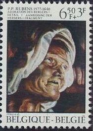 Belgium 1976 400th Birth Anniversary of Peter Paul Rubens