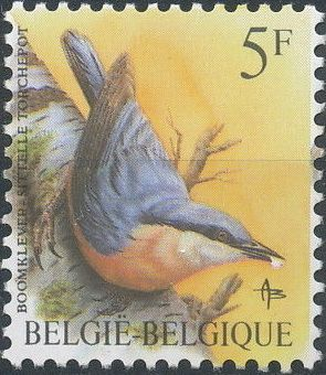 Belgium 1988 Birds
