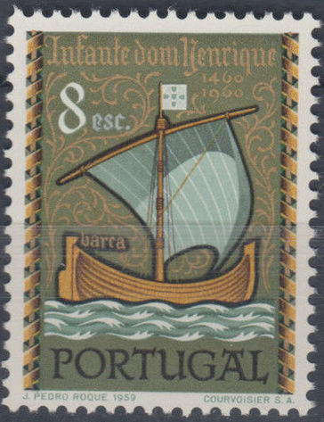 Portugal 1960 500th Anniversary of the Death of Prince Henrique the Sailor e.jpg