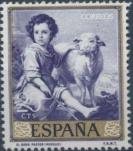 Spain 1960 Painters - Bartolomé Esteban Murillo