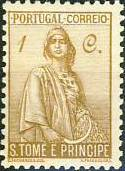 St Thomas and Prince 1934 Ceres - New Values