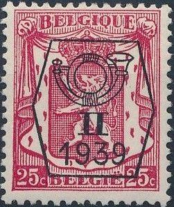 Belgium 1939 Coat of Arms - Precancel (2nd Group) c.jpg