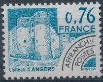 France 1980 Historic Monuments - Pre-cancelled (2nd Issue)