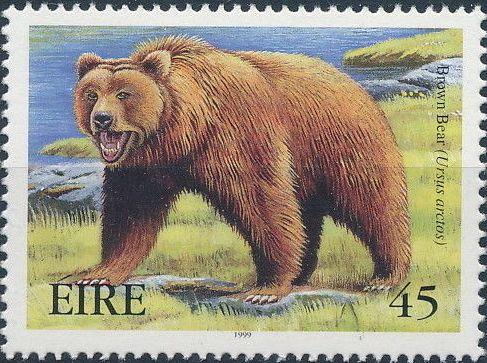 Ireland 1999 Extinct Irish Animals e.jpg