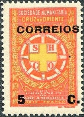 Mozambique 1927 Postal Tax Stamps