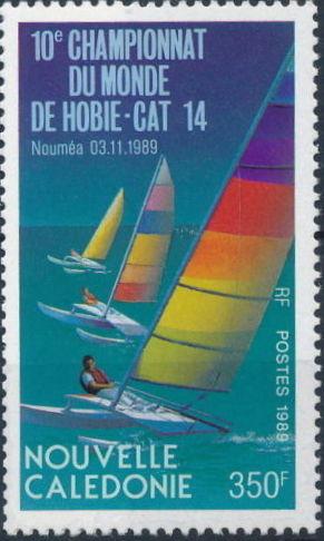 New Caledonia 1989 Hobie-Cat 14 10th World Championships