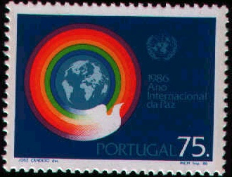 Portugal 1986 International Year of Peace