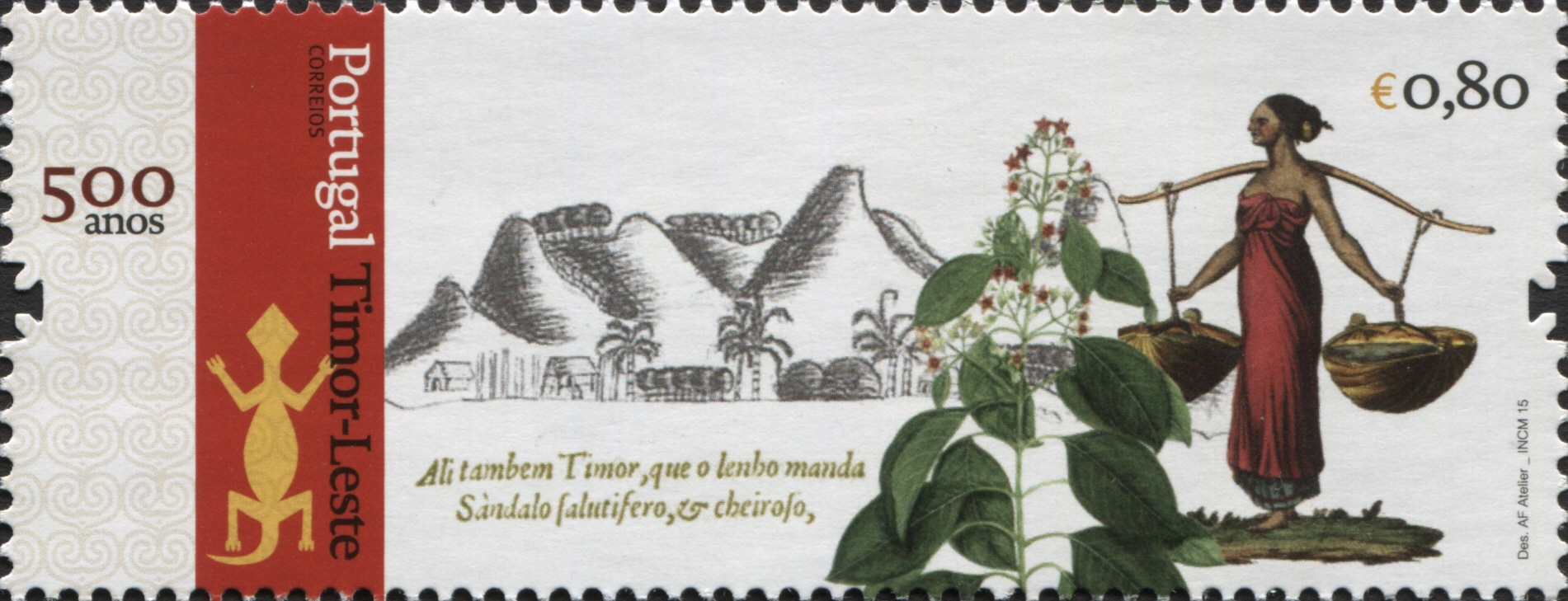 Portugal 2015 Portugal and Timor-Leste - 500 Years