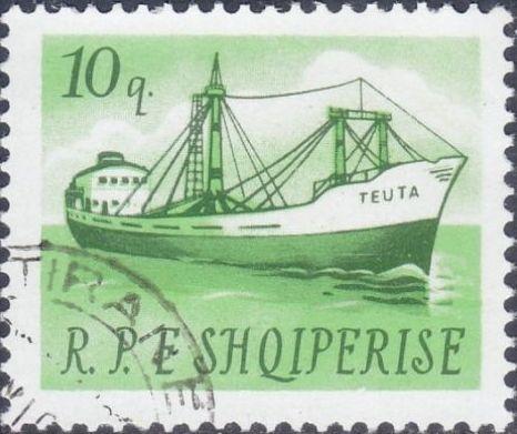 Albania 1965 Ships