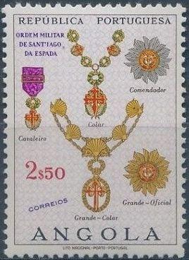 Angola 1967 Portuguese Civil and Military Orders e.jpg