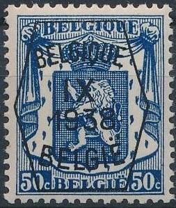 Belgium 1938 Coat of Arms - Precancel (9th Group) f.jpg