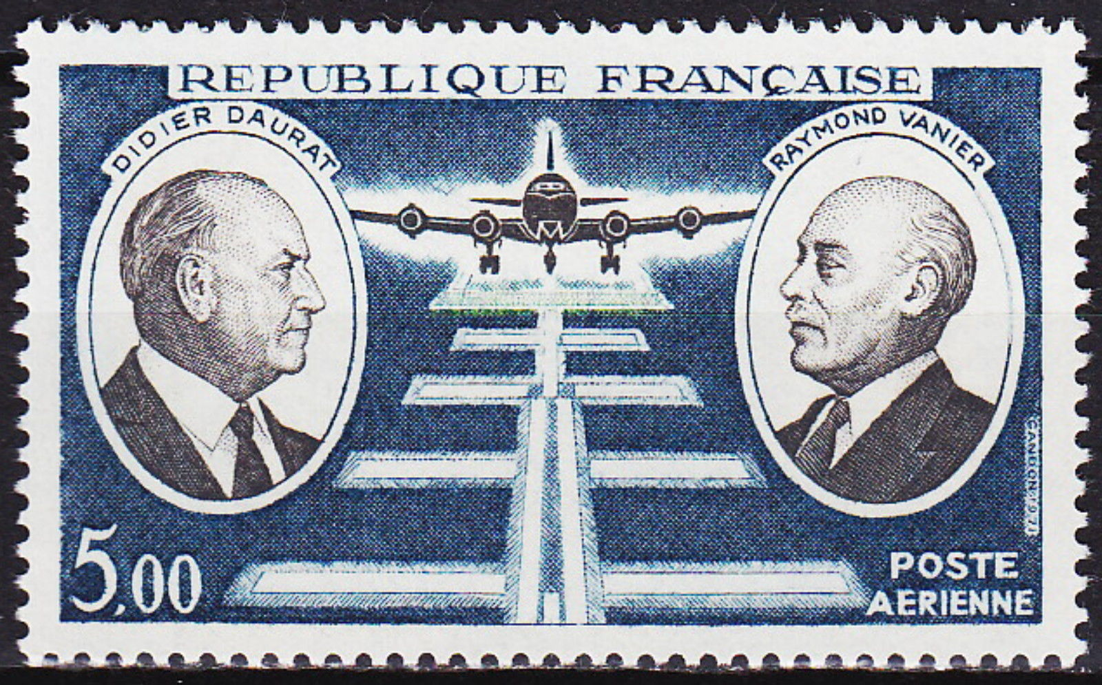 France 1971 Didier Daurat and Raymond Vanier Aviation Pioneers a.jpg