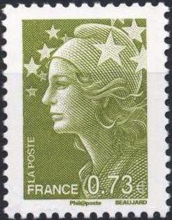 France 2009 Marianne & Europe