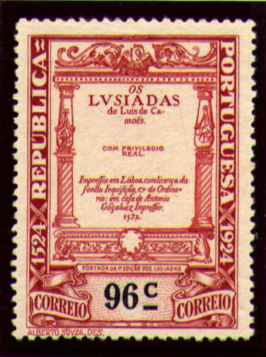 Portugal 1924 400th Birth Anniversary of Camões t.jpg