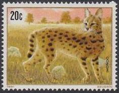 Rwanda 1981 Carnivorous Animals