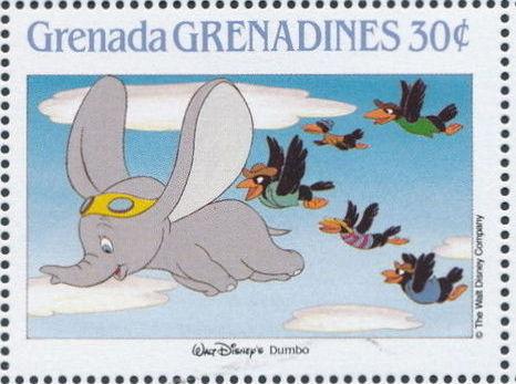 Grenada Grenadines 1988 The Disney Animal Stories in Postage Stamps 4h.jpg