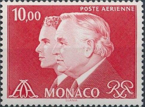 Monaco 1982 Prince Rainier and Prince Albert (Air Post Stamps) b.jpg
