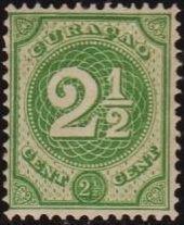 Netherlands Antilles 1890 Numbers
