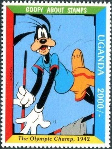 Uganda 1992 Walt Disney's Goofy 60th Anniversary h.jpg