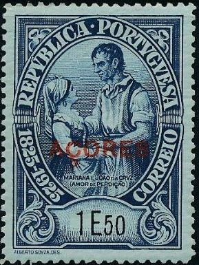 Azores 1925 Birth Centenary of Camilo Castelo Branco s.jpg