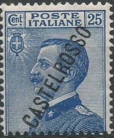 "Italy (Aegean Islands)-Castelrosso 1924 Definitives of Italy - Overprinted ""CASTELROSSO"" e.jpg"