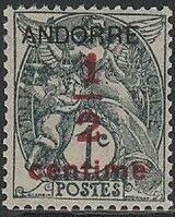 Andorra-French 1931 Newspaper Stamp