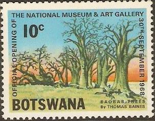 Botswana 1968 Opening of the National Museum and Art Gallery c.jpg