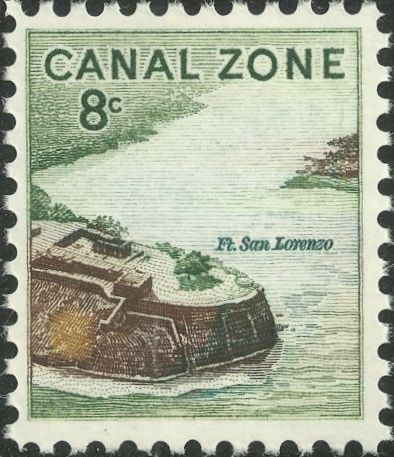 Canal Zone 1971 Fort San Lorenzo
