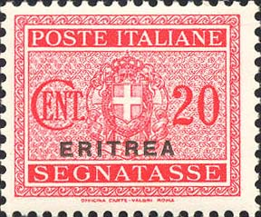 Italy-Eritrea 1934 Postage Due Overprinted c.jpg
