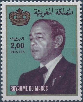 Morocco 1983 King Hassan II c.jpg