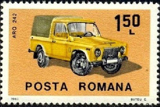 Romania 1983 Romanian Cars c.jpg