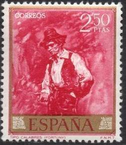 Spain 1968 Painters - Mariano Fortuny y Carbo g.jpg