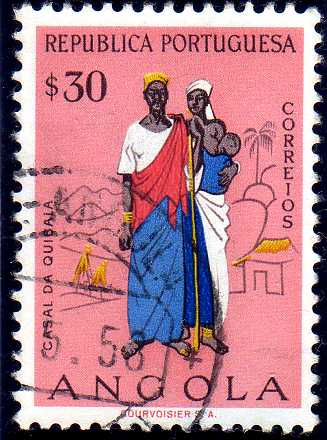 Angola 1957 Indigenous Peoples of Angola e.jpg