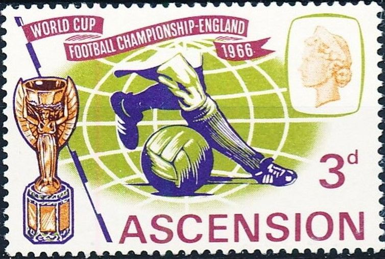 Ascension 1966 World Cup Soccer