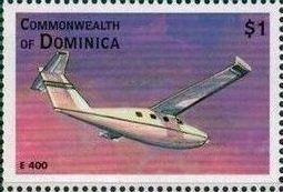 Dominica 1998 Modern Aircrafts p.jpg