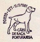 Portugal 1981 50th anniversary of the Portuguese Kennel Club PMb.jpg