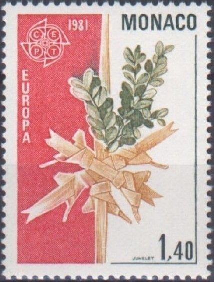 Monaco 1981 EUROPA - Folklore