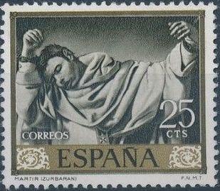 Spain 1962 Painters - Francisco de Zurbaran