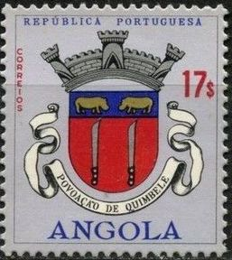 Angola 1963 Coat of Arms - (2nd Serie) s.jpg