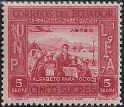 Ecuador 1948 Campaign for Adult Education - Air Post Stamps d.jpg