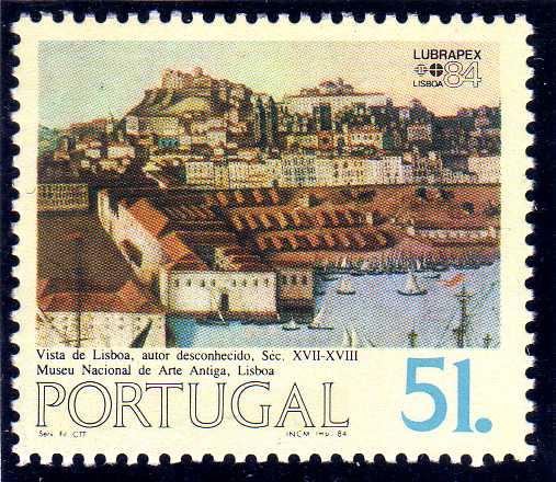 Portugal 1984 Portugues-Brazilian Stamp Exhibition LUBRAPEX '84 c.jpg