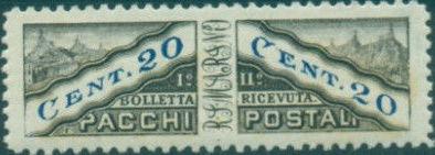 San Marino 1928 Parcel Post Stamps c.jpg