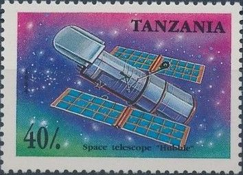 Tanzania 1994 Space Probes and Satellites
