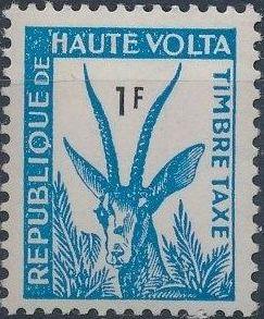 Upper Volta 1962 Gazelle