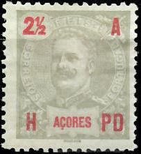 Azores 1906 D. Carlos I