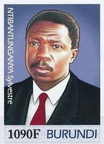 Burundi 2012 Presidents of Burundi - Sylvestre Ntibantunganya i.jpg