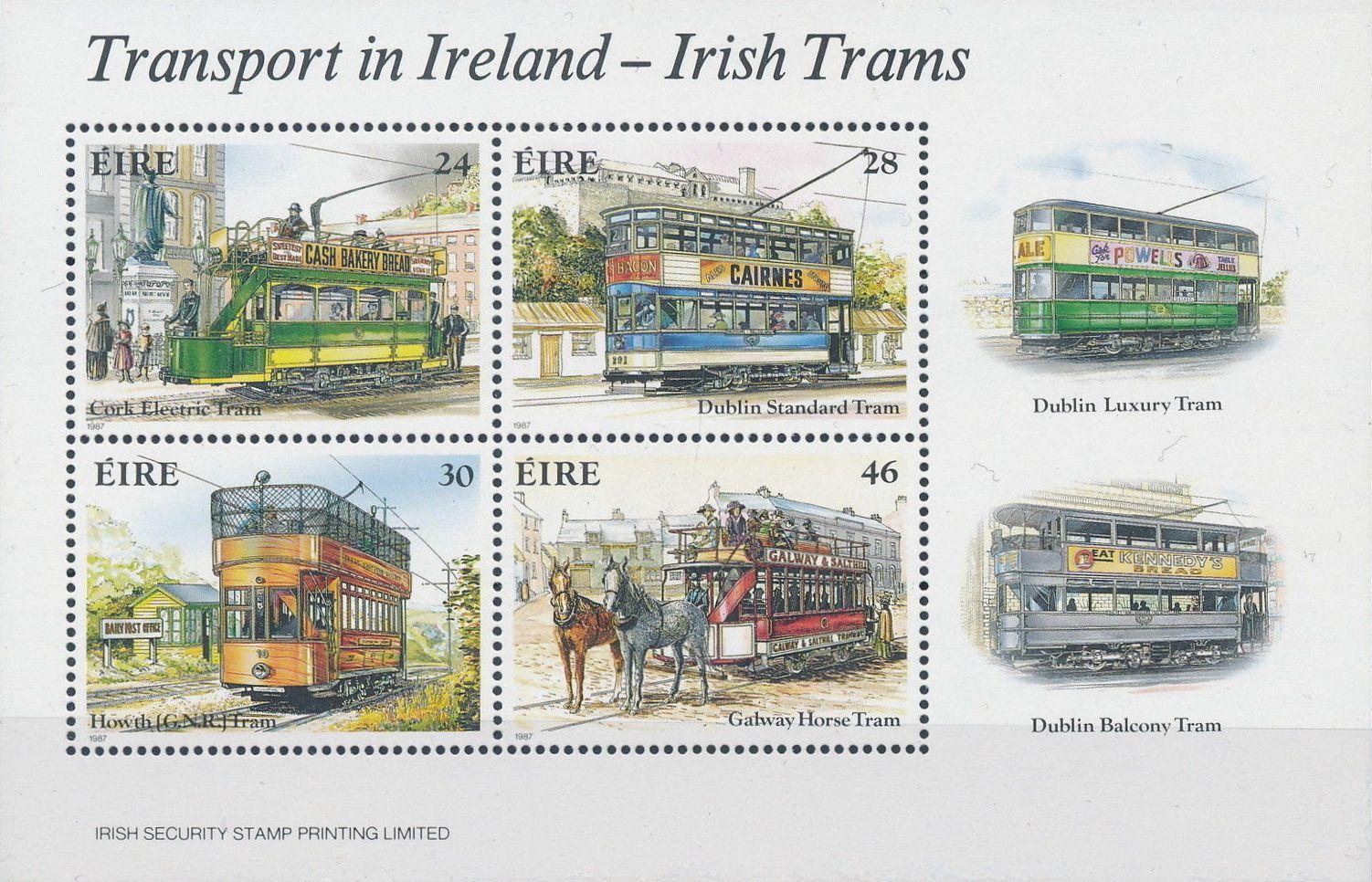 Ireland 1987 Transport in Ireland - Irish Trams