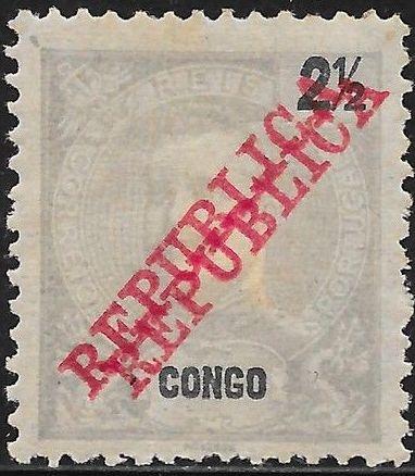 Portuguese Congo 1911 D. Carlos I Overprinted REPUBLICA a1.jpg