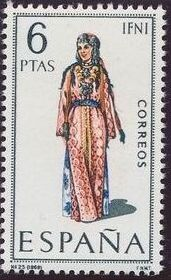 Spain 1969 Regional Costumes Issue