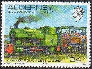 Alderney 1993 Island Scenes